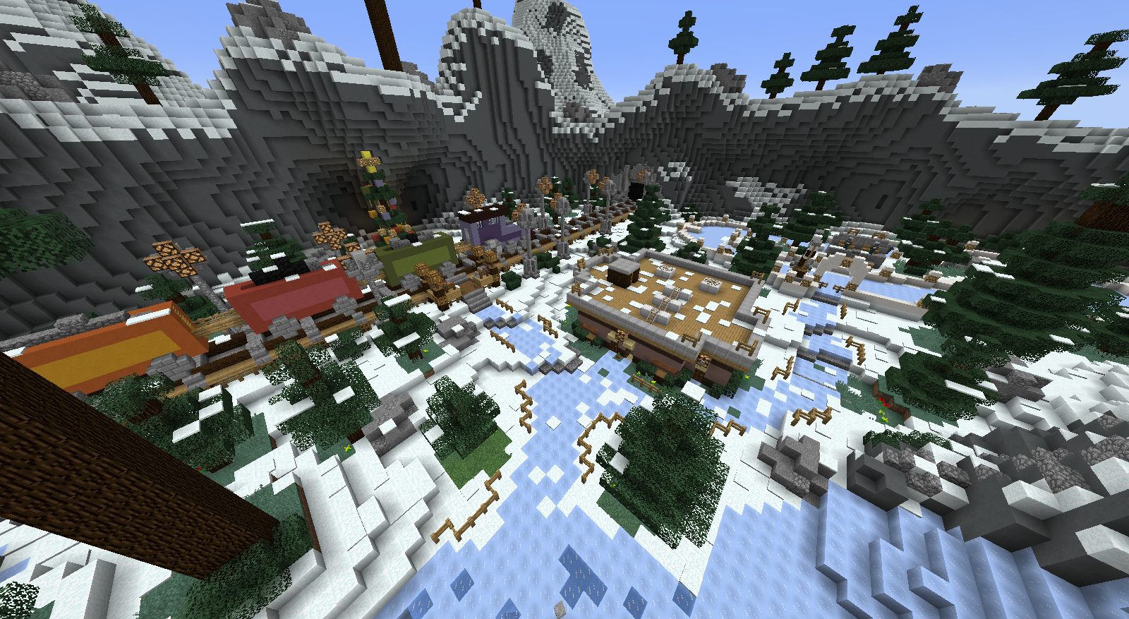 Minecraft Christmas Map.Download Christmas Ornament Hunt 2 Mb Map For Minecraft
