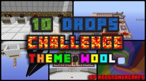 Download 10 Drops Challenge: Wool for Minecraft 1.9.4