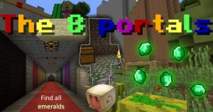 Download The 8 Portals for Minecraft 1.9