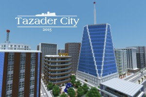 Download Tazader City 2015 for Minecraft 1.8