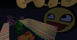 Download Extreme Rainbow Road for Minecraft 1.8.1