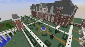 Download French Chateau for Minecraft 1.12.2