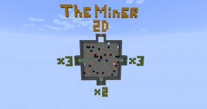 Download The Miner 2D for Minecraft 1.12.1