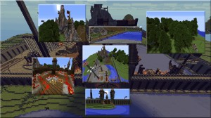 Download Topo Castle Park for Minecraft 1.11.2