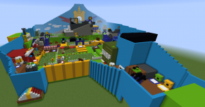 Download «Bee Swarm Simulator» map for Minecraft