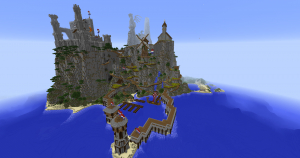 Download Medieval Mountain Village for Minecraft 1.12.2