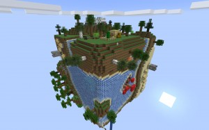 Download «Planet Earth Survival» (583 kb) map for Minecraft