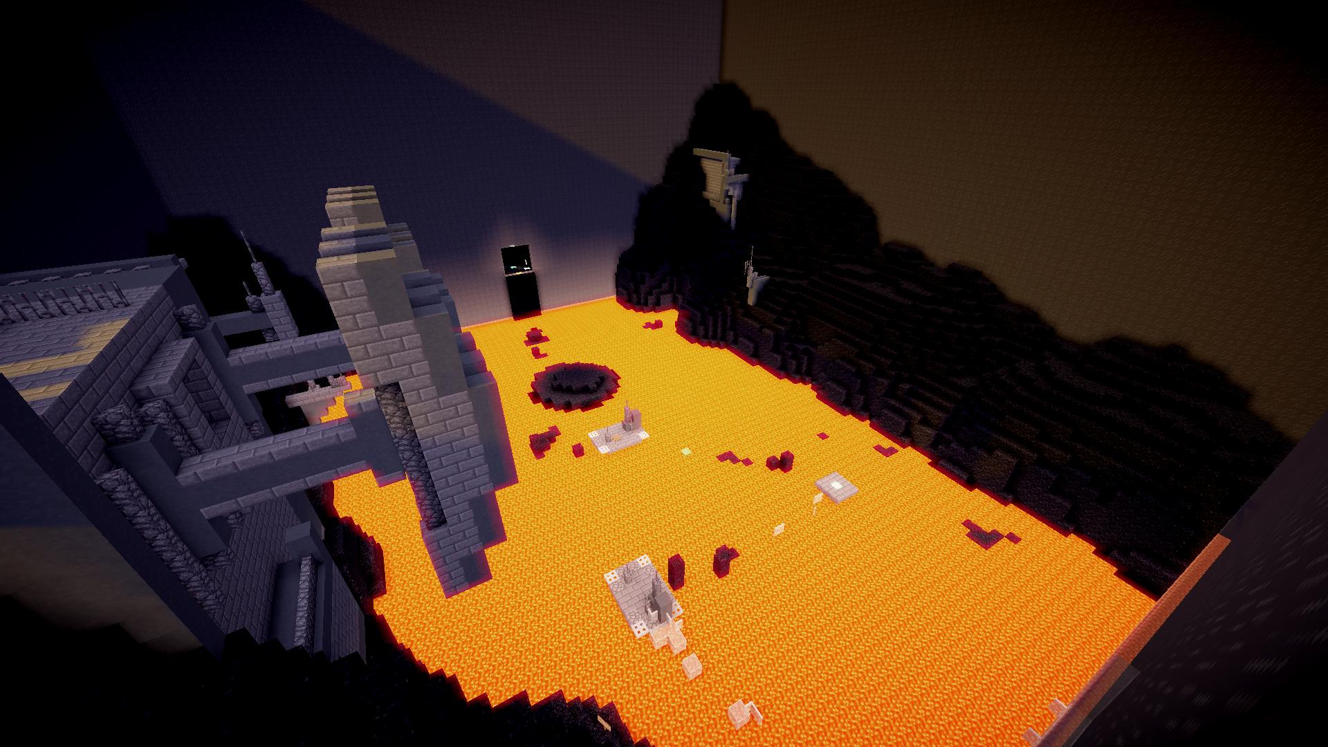 Download Star Wars Parkour Prequels 2 Mb Map For Minecraft