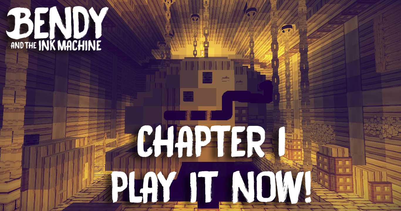 Download Bendy and the Ink Machine (Chapter 1) for Minecraft 1.12.2