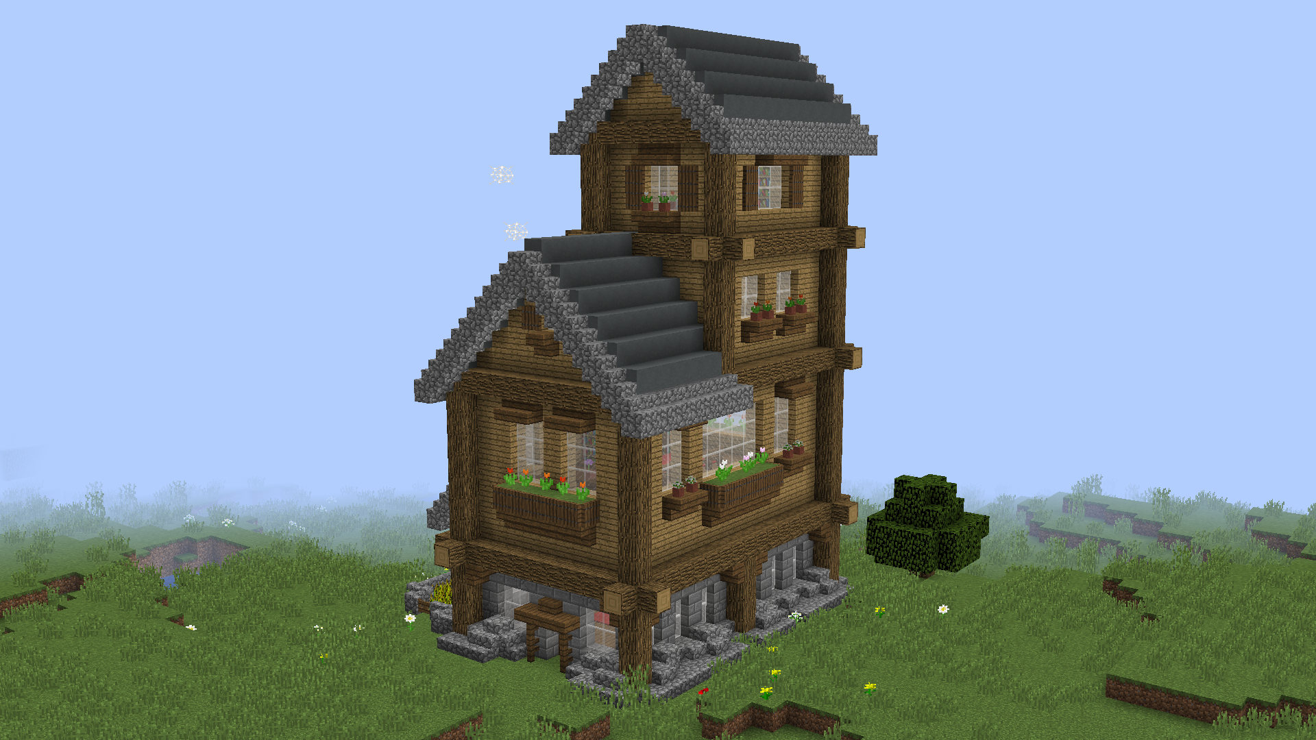 Download Small Rustic House 3 Mb Map For Minecraft