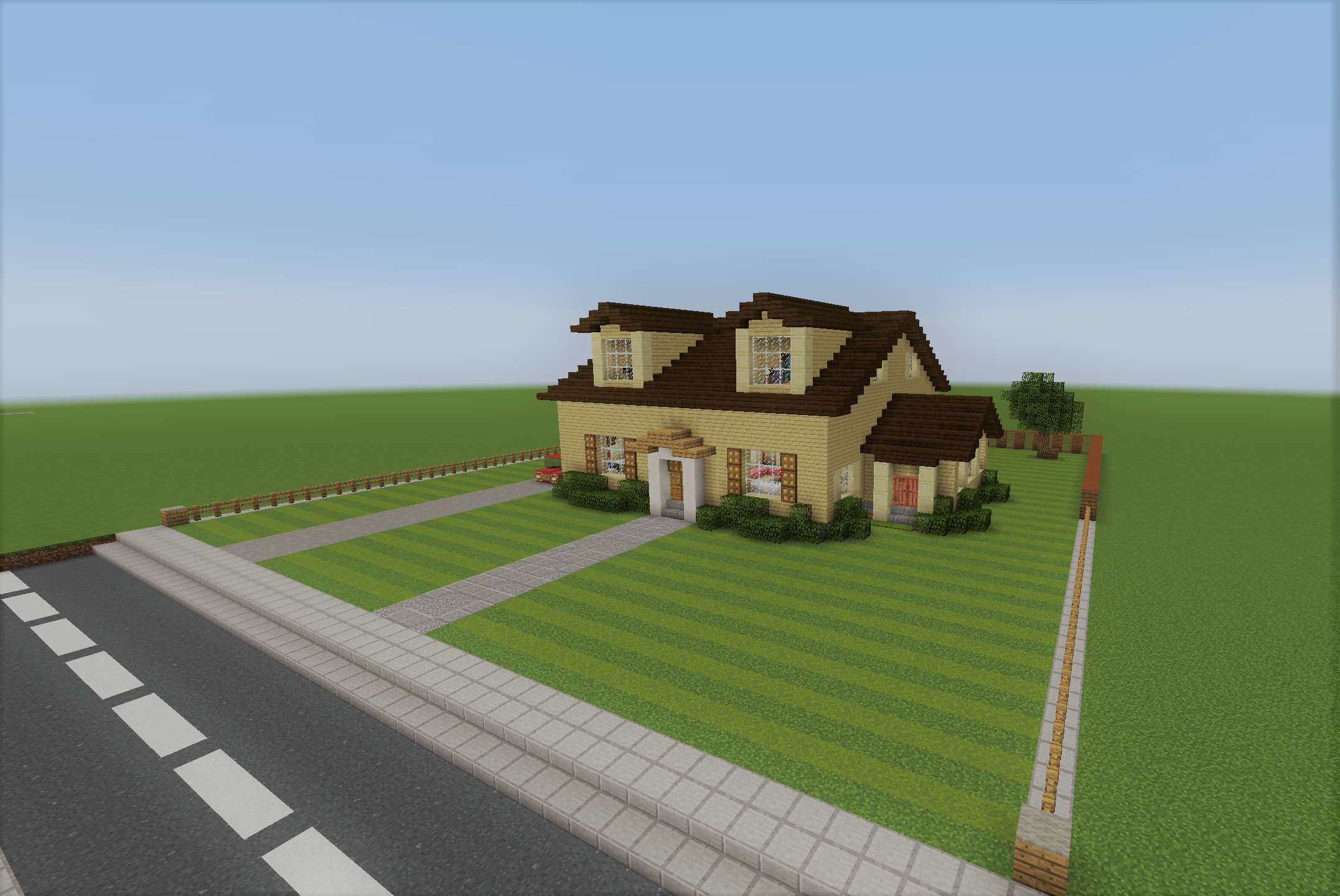 House maps for minecraft for Casa moderna mansion minecraft