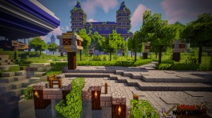 Download Castle and Gladiator Arena for Minecraft 1.13.2