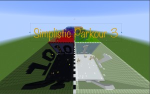 Download Simplistic Parkour 3 for Minecraft 1.13.2