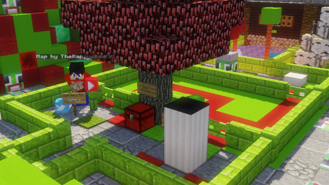 Download «UNFAIR UNSPEAKABLE 2» (8 mb) map for Minecraft