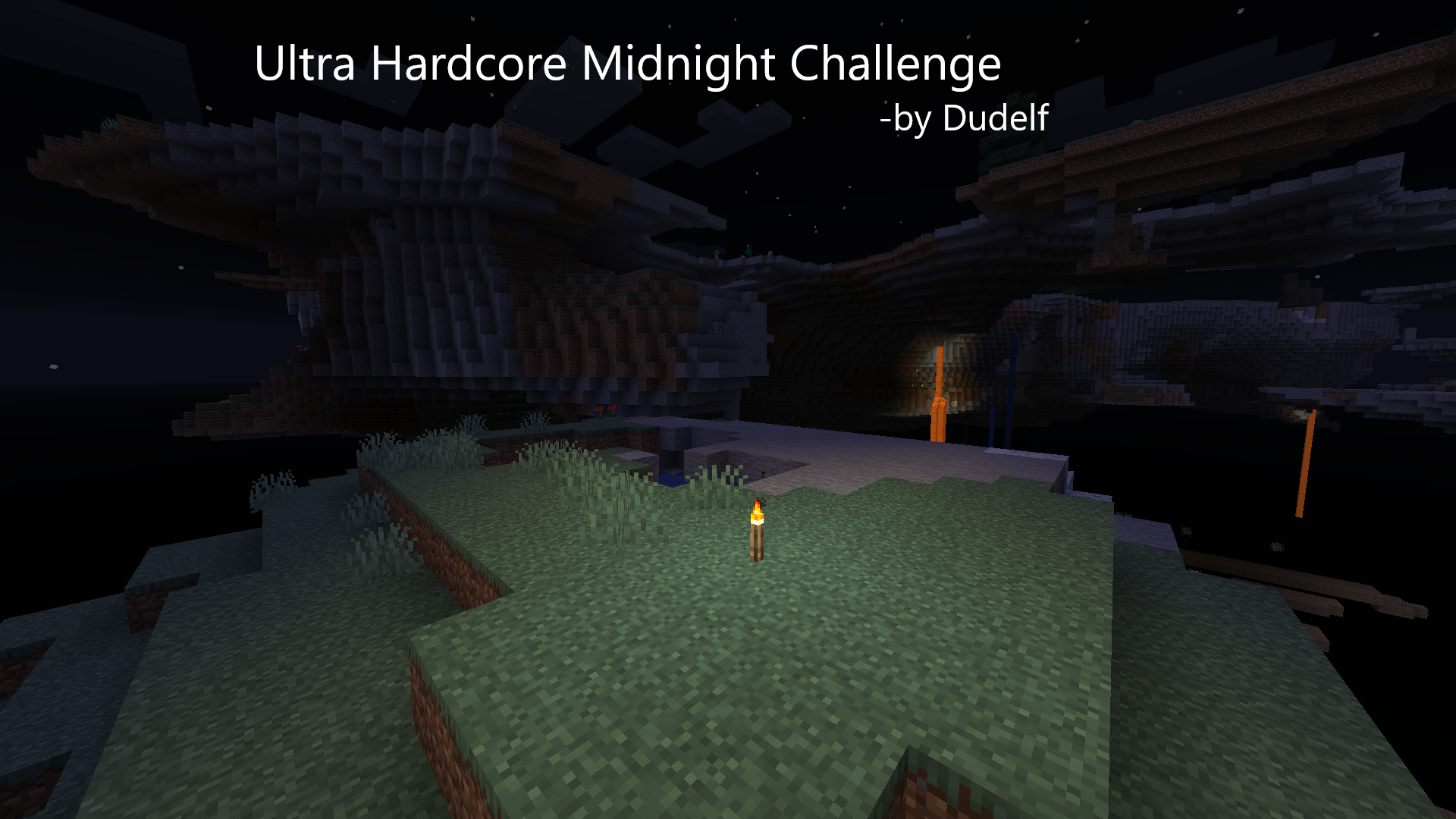 Download «Ultra Hardcore Midnight Challenge» (10 mb) map for Minecraft
