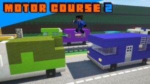 Download Motor Course 2 for Minecraft 1.14.3
