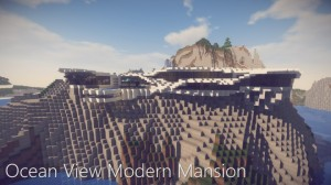 Download Ocean View Modern Mansion for Minecraft 1.14