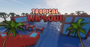 Download Tropical Wipeout for Minecraft 1.14