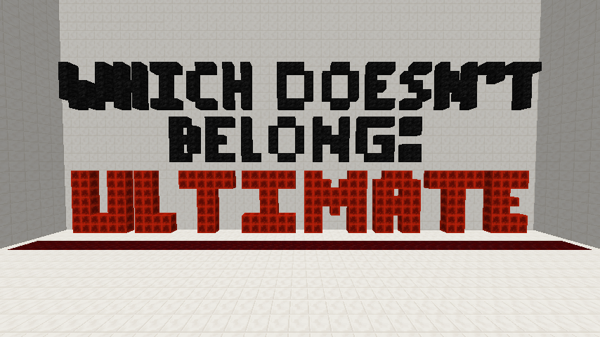 Download Which Doesn't Belong: Ultimate for Minecraft 1.12.2