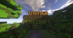 Download Unfair Irregular Minecraft for Minecraft 1.12.2