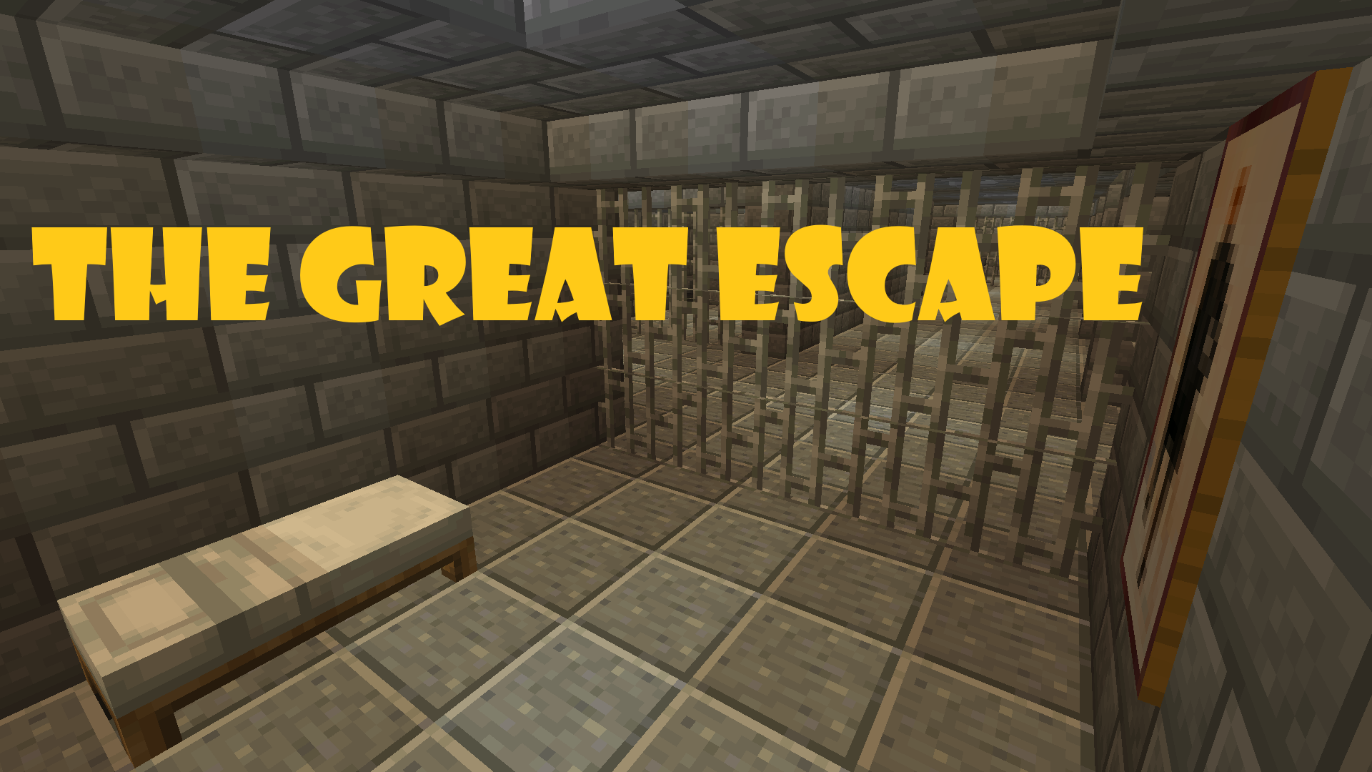 Download THE GREAT ESCAPE! for Minecraft 1.14.4