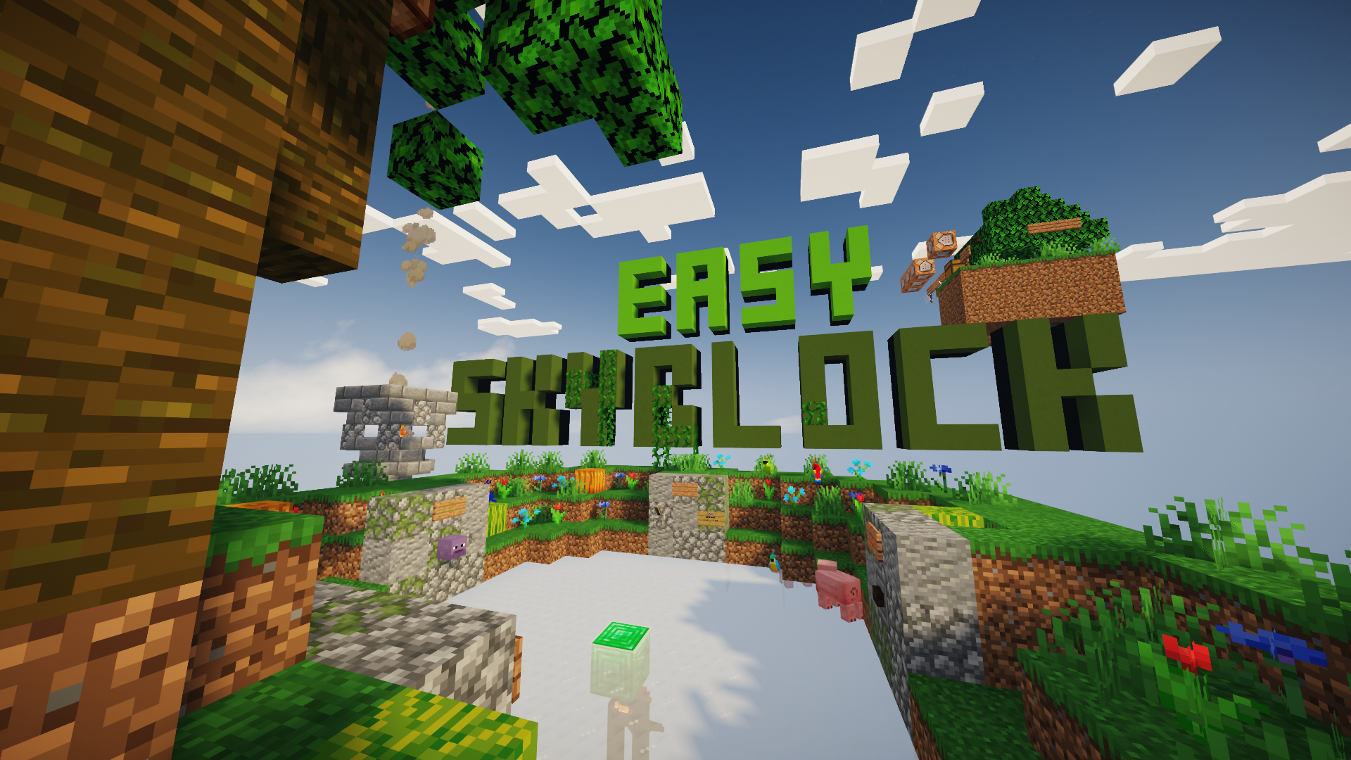 Download Easy SkyBlock for Minecraft 1.14.4