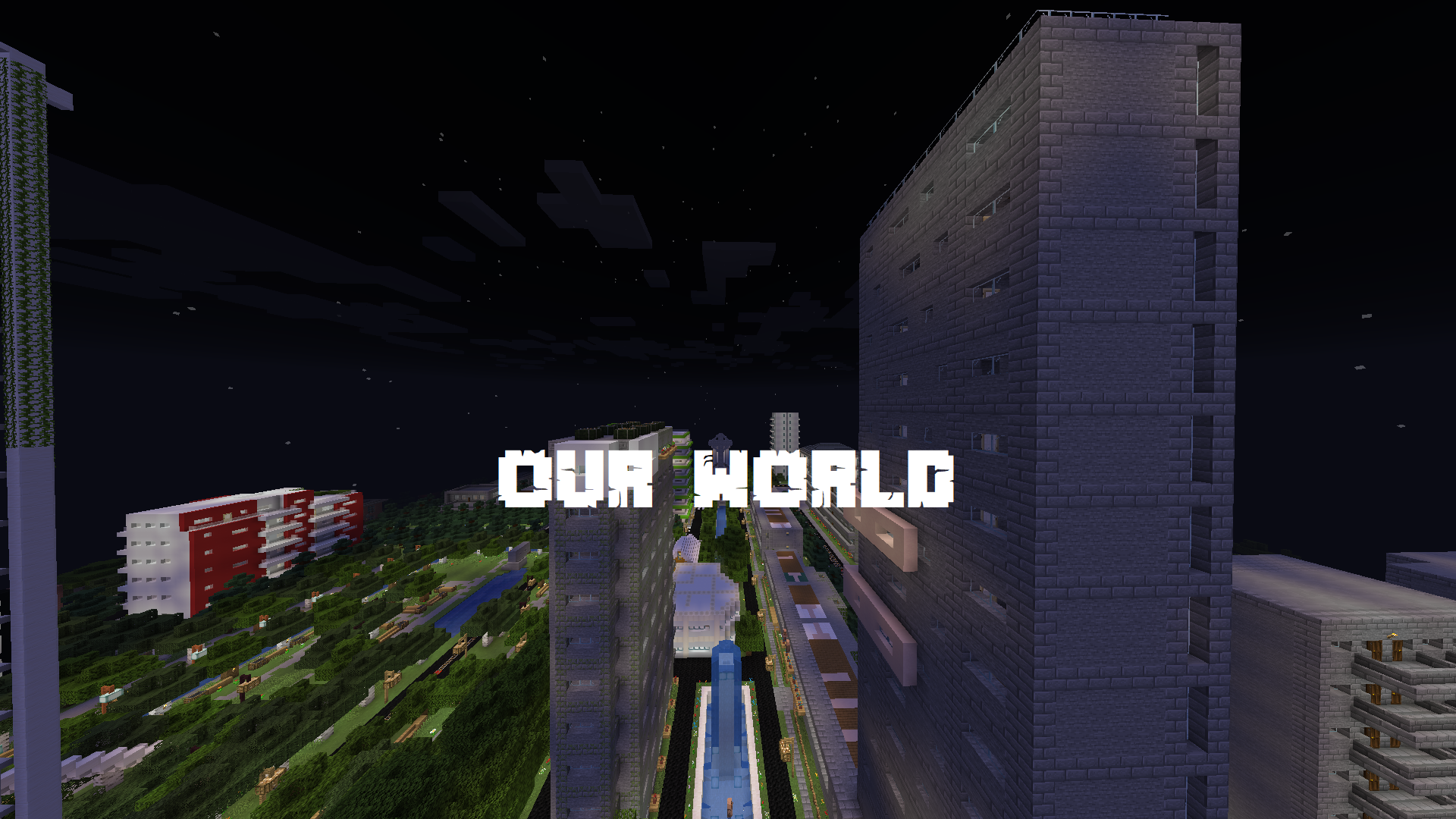 Download OUR WORLD for Minecraft 1.14.2