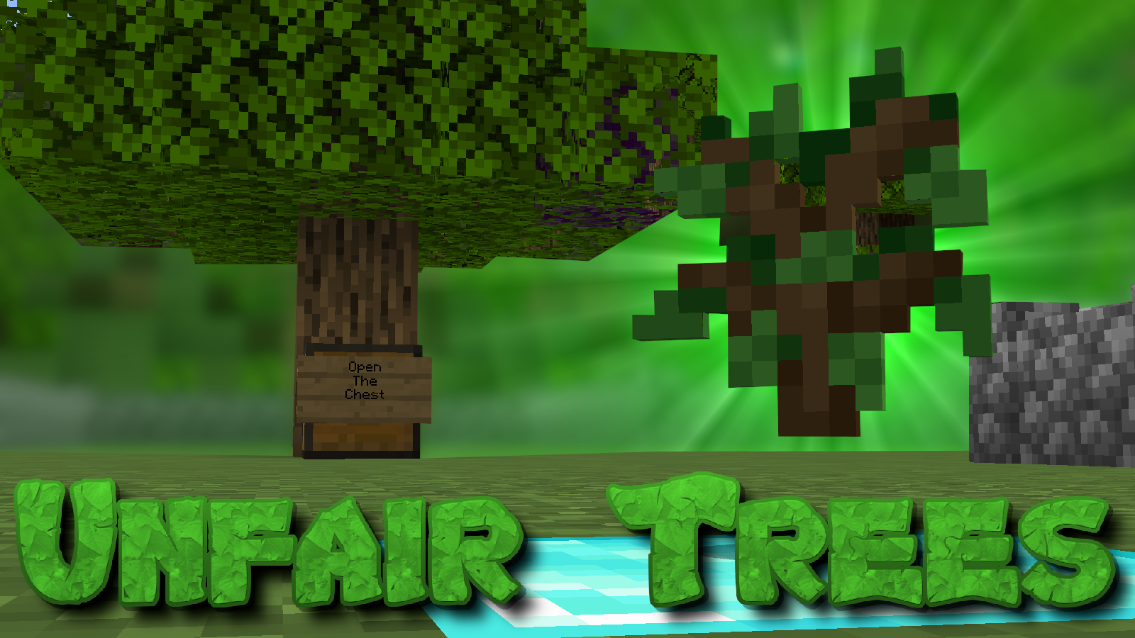 Download Unfair Trees for Minecraft 1.14.4