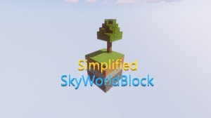 Download Simplified SkyWorldBlock for Minecraft 1.15