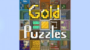 Download Gold Puzzles for Minecraft 1.15.2
