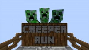 Download Creeper Run for Minecraft 1.15.2