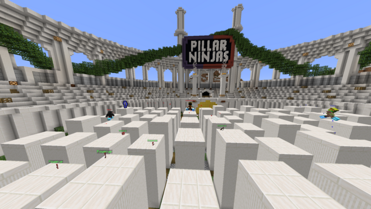 Download Pillar Ninjas for Minecraft 1.15.2