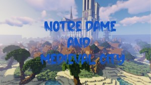 Download Notre Dame and Medieval City for Minecraft 1.14.4