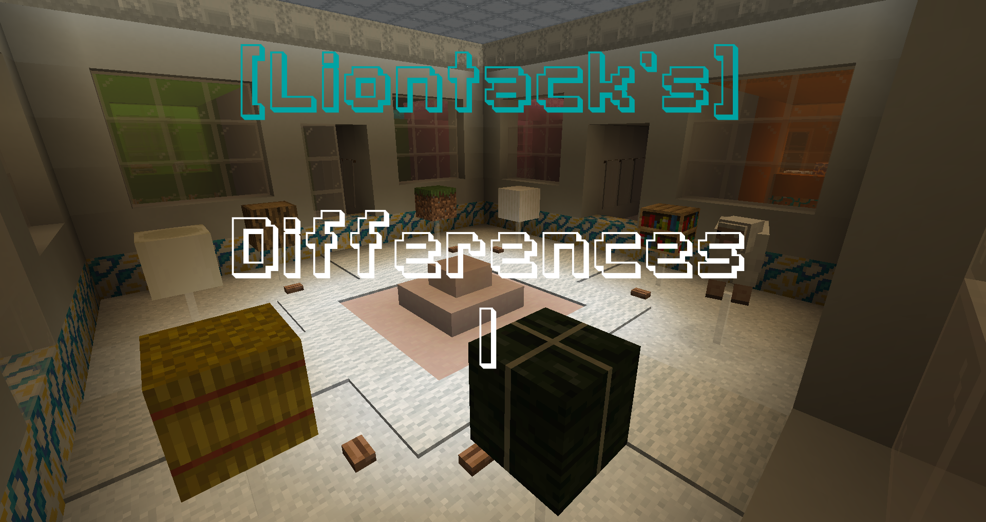 Download [Liontack's] Differences 1 for Minecraft 1.15.2
