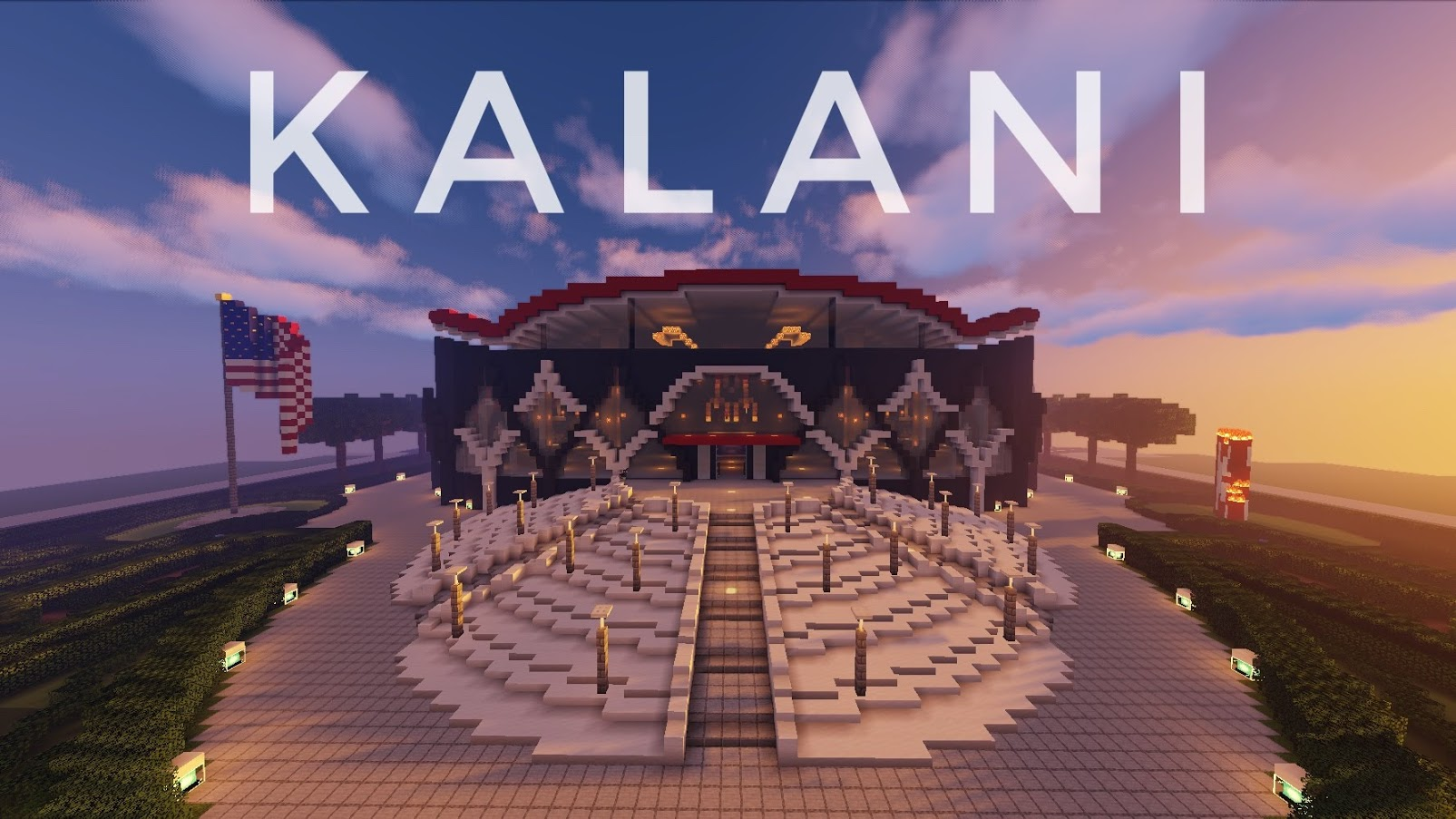 Download Kalani Grad Stage for Minecraft 1.14.3