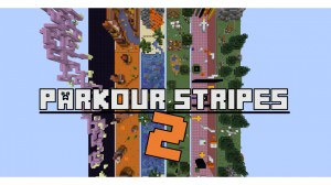 Download Parkour stripes 2 for Minecraft 1.15.2