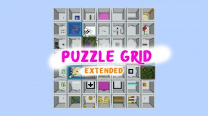 Download Puzzle Grid Extended for Minecraft 1.16.1