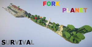 Download Fork Planet Survival for Minecraft 1.16.2