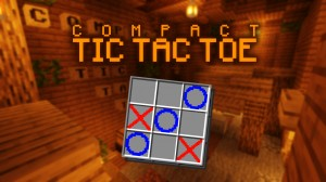 Download Compact Tic Tac Toe for Minecraft 1.16.2