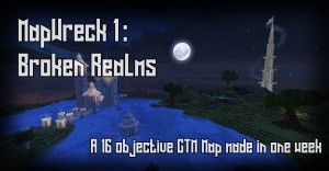 Download Mapwreck 1 - Broken Realms for Minecraft 1.16.2