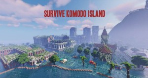 Download Survive Komodo Island for Minecraft 1.15.2