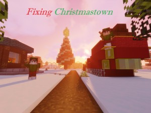 Download Fixing Christmastown for Minecraft 1.16.4