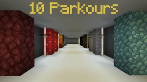 Download 10 Parkours for Minecraft 1.16.5