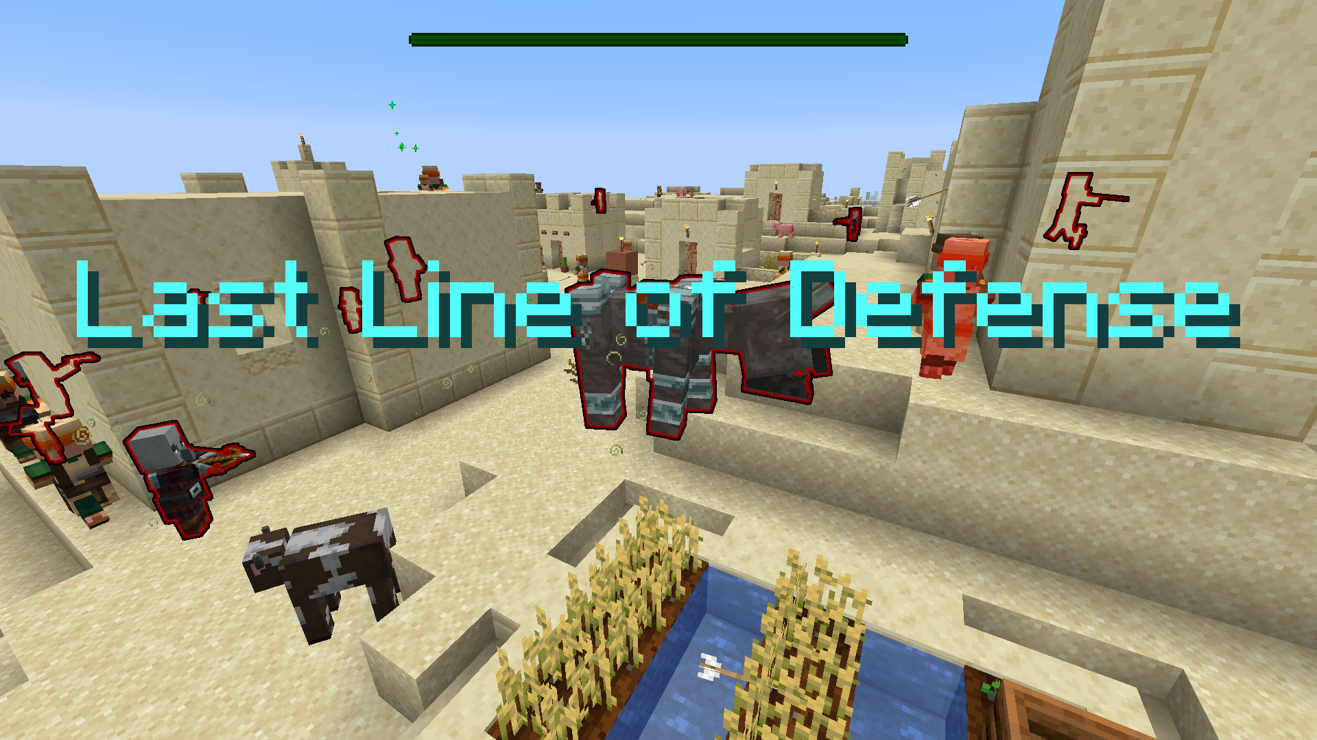 Download Last Line of Defense for Minecraft 1.16.5