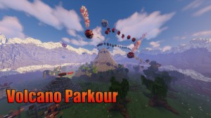 Download The Volcano Parkour for Minecraft 1.16.5