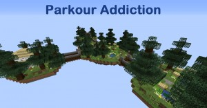Download Parkour Addiction for Minecraft 1.16.5