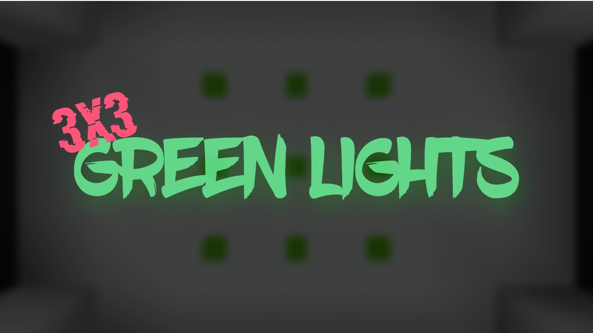 Download Green Lights 3x3 for Minecraft 1.16.5