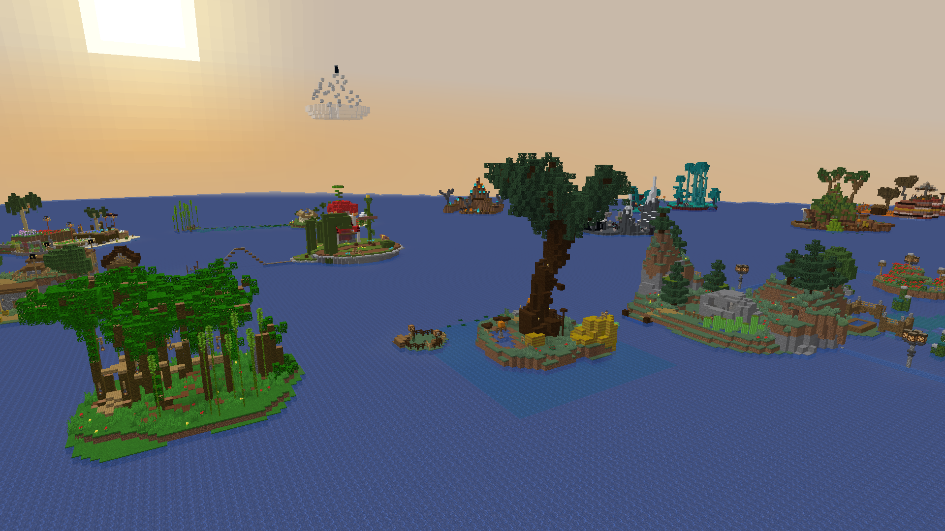 Download Adventure Islands 15 Mb Map For Minecraft