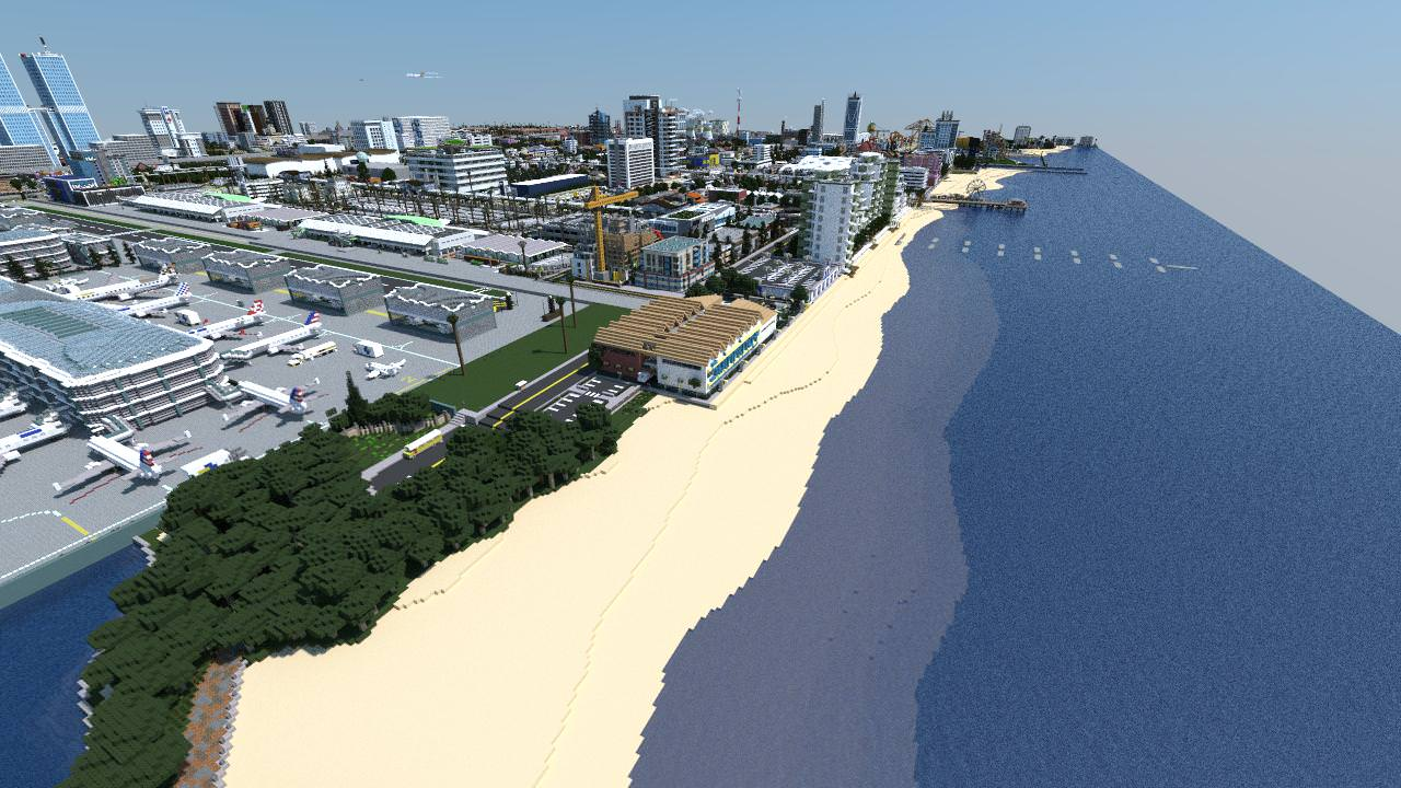 Download «Audia City» map for Minecraft